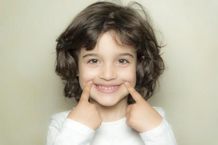 Lächelndes Kind