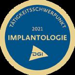 Siegel Schwerpunkt Implantologie